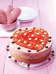 Muttertags-Torte - Eine fruchtige Erdbeertorte für den Sommer