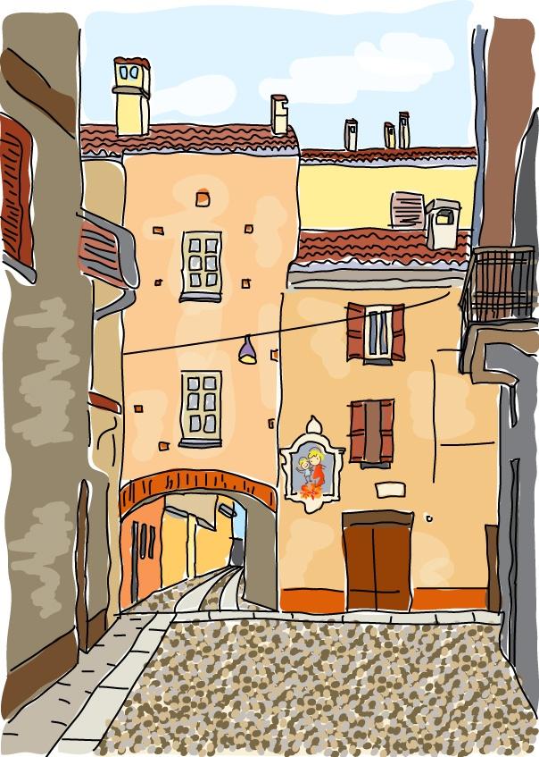 Porta Pertusi, Pavia - Italy