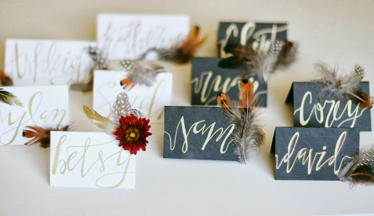 1000 Images About Place Card Holder Ideas On Pinterest