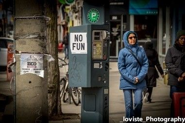 Its never fun paying for parking.  #parking #greenp #nofun #steetphotos #strangers #streetphotographer #streetart #streetphotography #toronto #thesix #kensingtonmarket by _loviste_photography