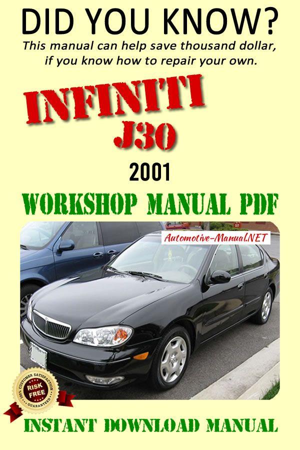 Download Infiniti I30 A33 2001 Workshop Manual Pdf Infiniti Manual Workshop
