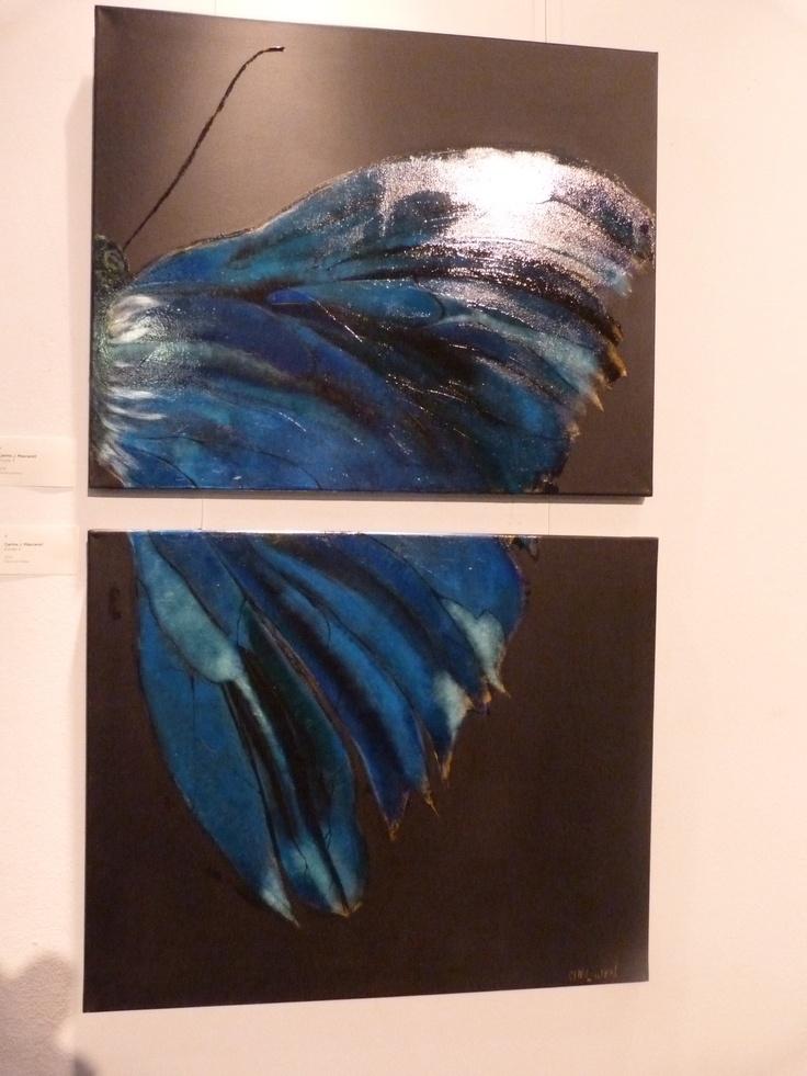 treballs taller de pintura adults curs 2012/13  www.escolatrac.com