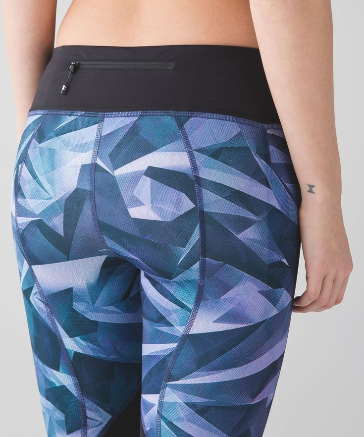 Release Date: 6/2016. Original Price: $88. Materials: Full-On® Luxtreme. Color: pretty prism multi/black. This versatile run crop has you covered from long runs to hill training Full-On® LuxtremeFour-way stretch Full-On® Luxtreme fabric is sweat-wicking and offers great support and coverage with a cool, smooth feelincredible support and coveragesweat-wickingfour-way stretchcoolsmooth handfeelnaturally breathableLYCRA®Added LYCRA® fibre for great shape retentionstretchgreat shape ret...