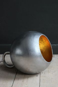 Kettlebell Floor or Table Lamp