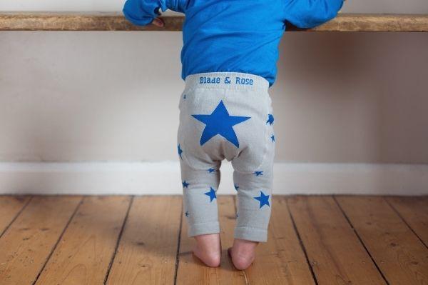 Blue Star Leggings - Sprogs Inc