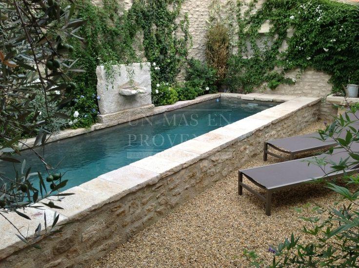 Maison de village avec piscine et cour intérieure dans le Luberon