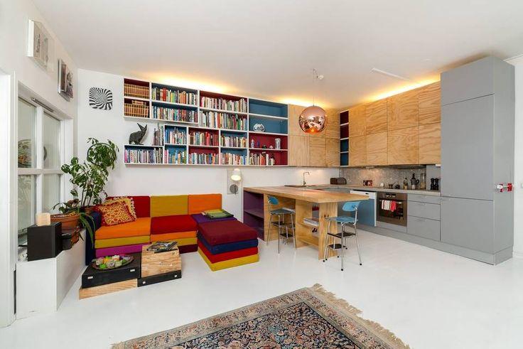 PRAKTISK: Den åpne leiligheten er godt utnyttet på alle kanter.