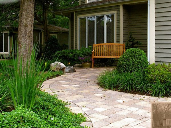 Easy front yard landscaping simple 36 unbelievable front for Simple front landscaping