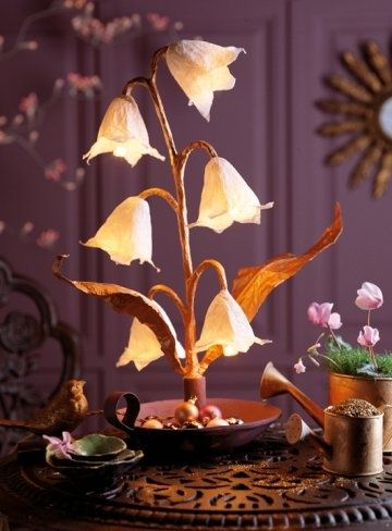 Egg Carton Flower Crafts.. This site has some really creative ideas using recycled paper pulp egg cartons.