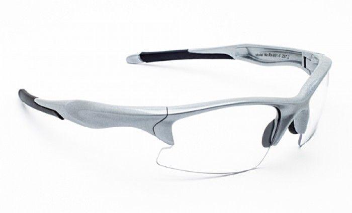 Prescription Safety Glasses: #RX-691 Silver