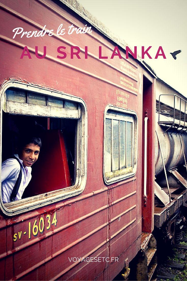 Voyager en train au Sri Lanka, un vrai plaisir... Récit d'un voyage des montages du sud à Kandy au centre du pays