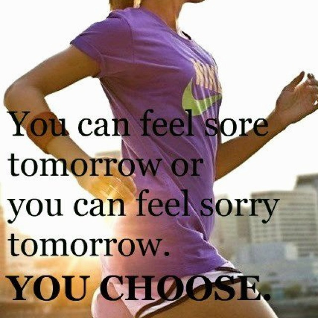 Would you rather be sorry or sore? You choose!