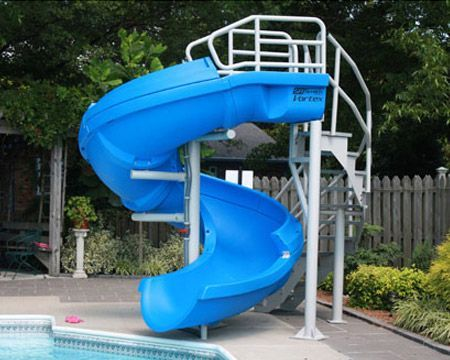 48 Best Images About Pool Slides On Pinterest Pool