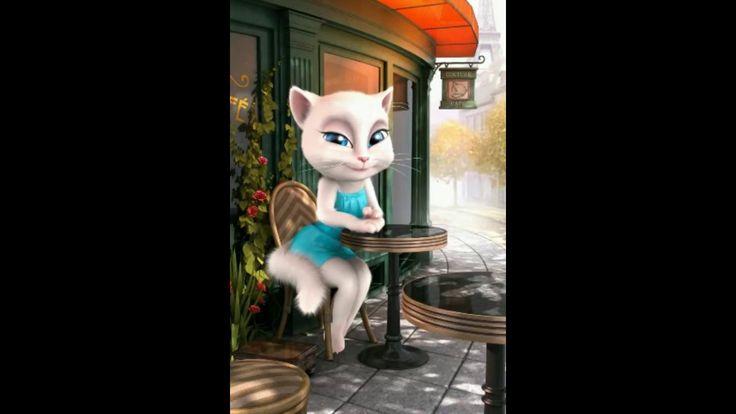 Talking Angela | Talking Tom Cat | Whatsapp Funny Clips | 2017 | New Fun...