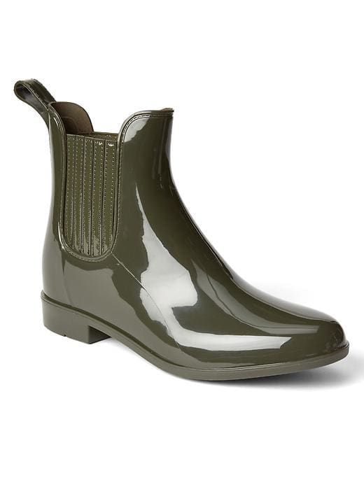 Gap Womens Rain Boots Olive Green
