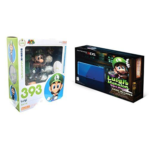 http://videogamesideas.info/luigis-mansion-dark-moon-edition-nintendo-3ds-system-and-nendoroid-bundle/ - Luigi's Mansion Dark Moon Edition Nintendo 3DS System and Nendoroid Bundle!