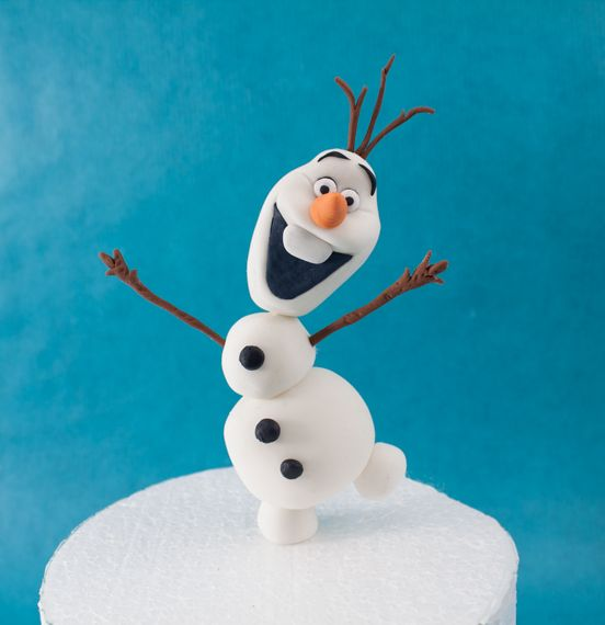 How to make Olaf from Frozen - Cake Decorating TUTORIAL