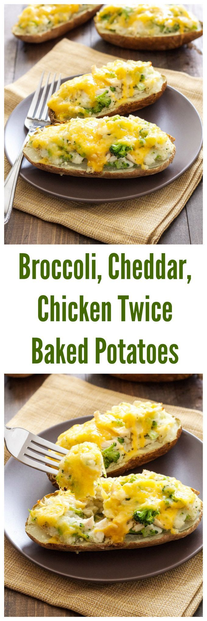 twice baked potatoes broccoli cheddar chicken twice baked potatoes ...
