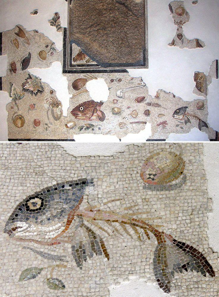 Mosaico (Aquileia, I s. a.C.). Pavimenti sporchi come opere d'arte! | DidatticarteBlog