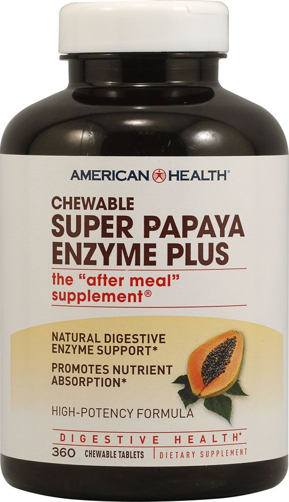 Papaya Enzyme  Natural Digestive Aid Great For Heartburn Acid Reflux