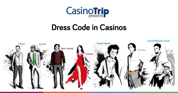 dress code for casino uk