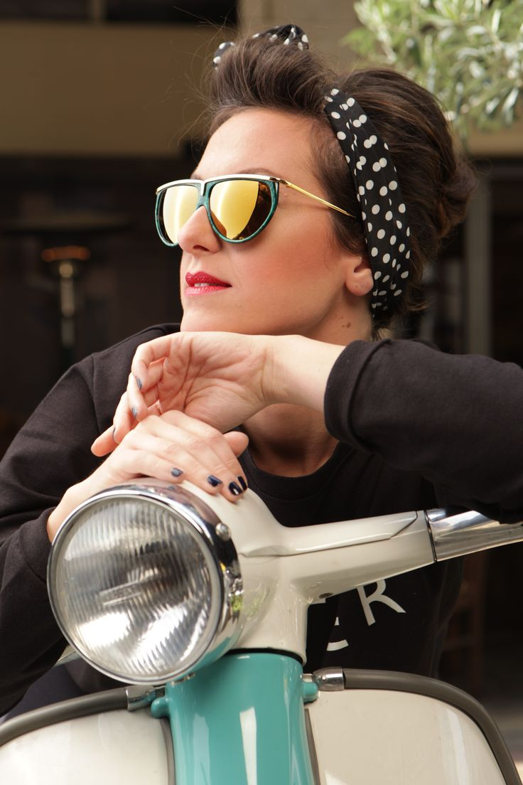 Original Vintage Eyewear Campaign 2014 ft. Ifigeneia Atkinson Women' s Vintage Sunglasses