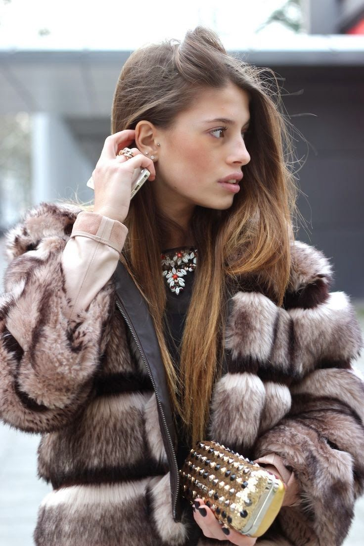 How to Chic: FAUX FUR JACKET