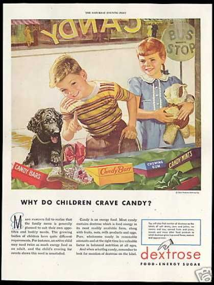 Why do children crave candy?  now I know