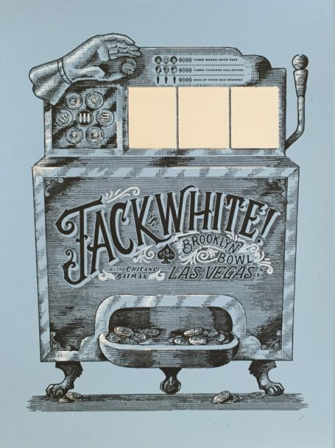 Jack White's Vegas Concert Poster is a World First - The Chicago Egotist