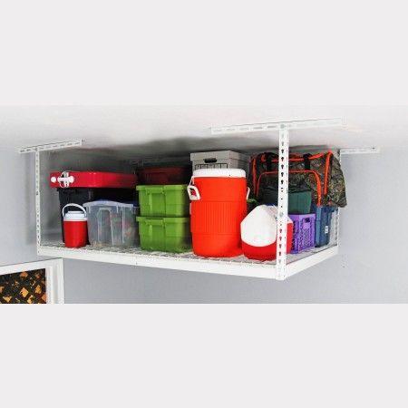 4' x 6' Overhead Storage Rack - Overhead Garage Storage