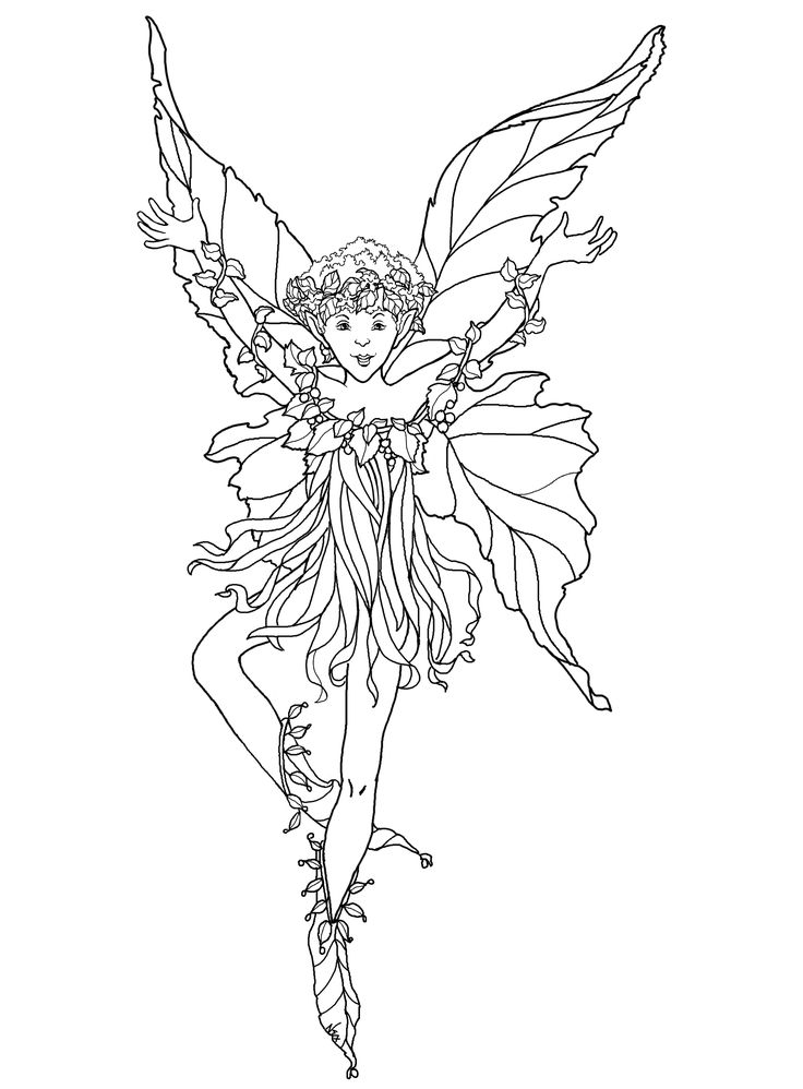 Fairy Coloring Pages 59 272035 High Definition Wallpapers ...