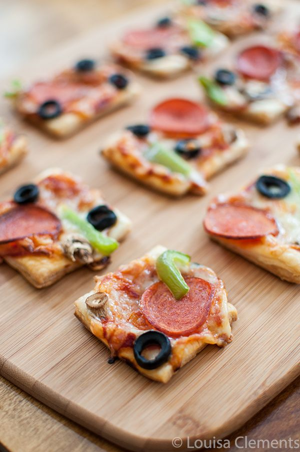 Puff Pastry Pizza Bites (Her)