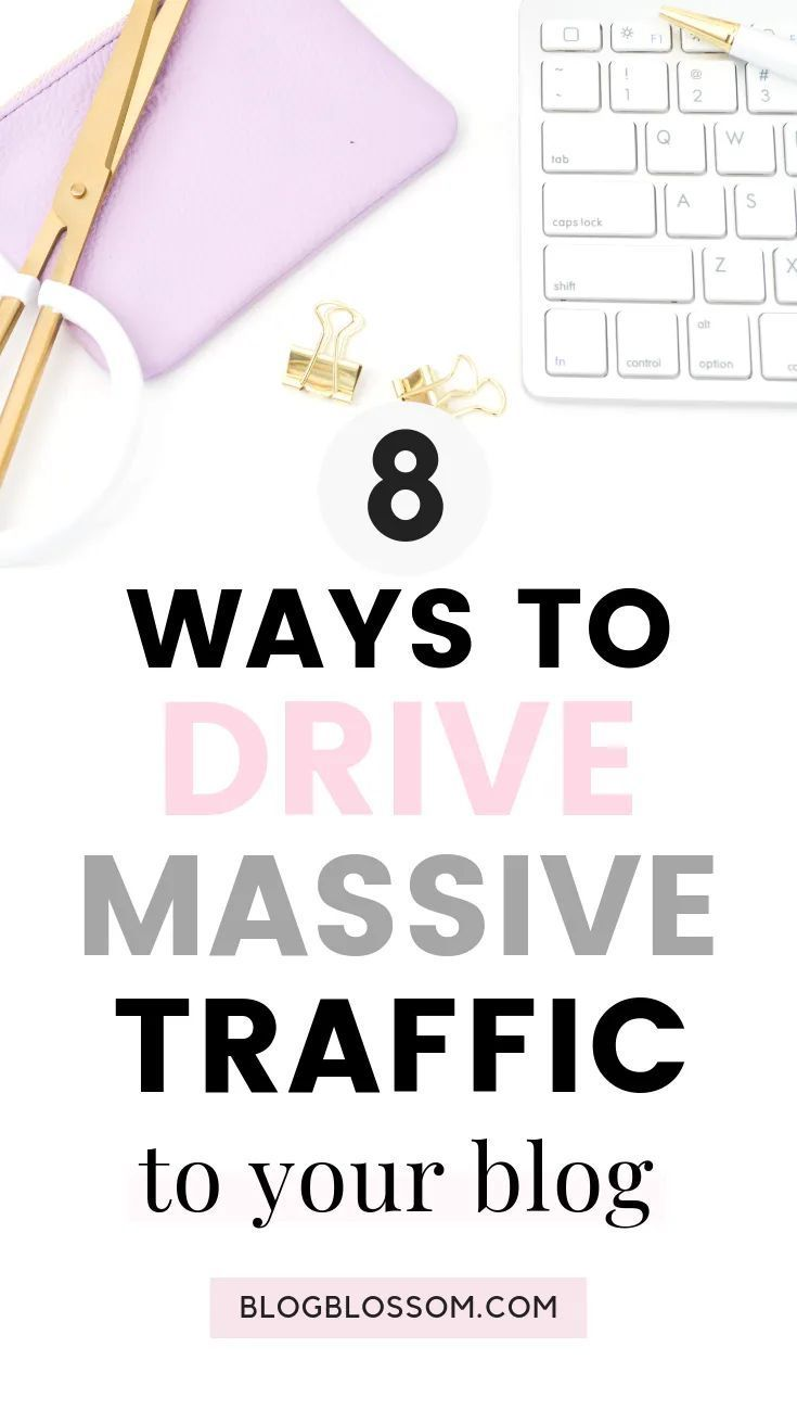 8 Free Ways To Drive Traffic To Your New Blog Looking to drive traffic to your b… – lzaiba.noor.37i