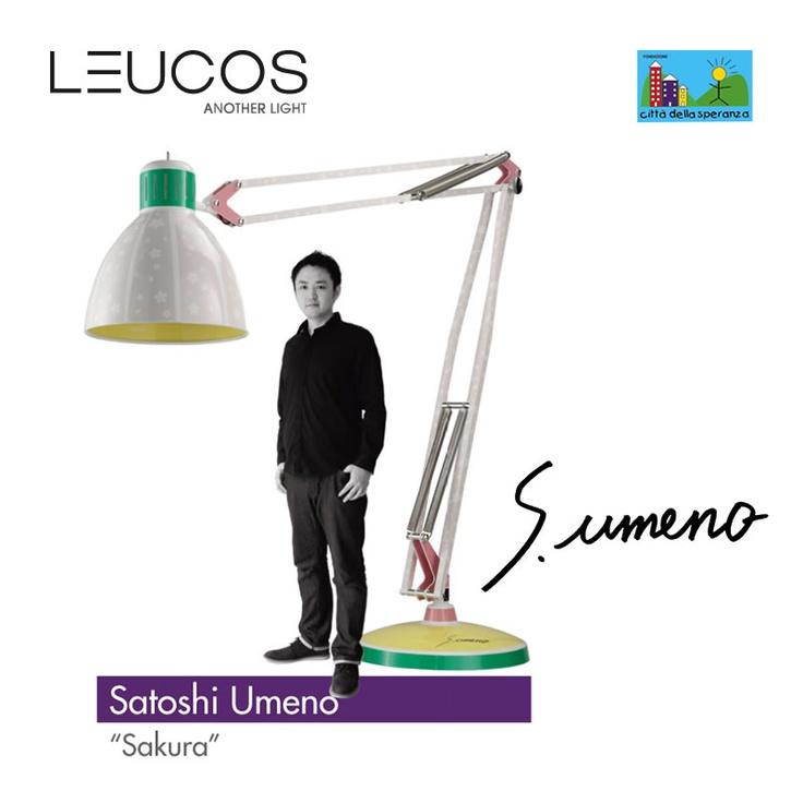 "Satoshi Umeno - ""Sakura"" Light Your Heart -- http://www.fdvgroup.com/Light_your_Heart_-Edition_2013_Aprile_Milano"