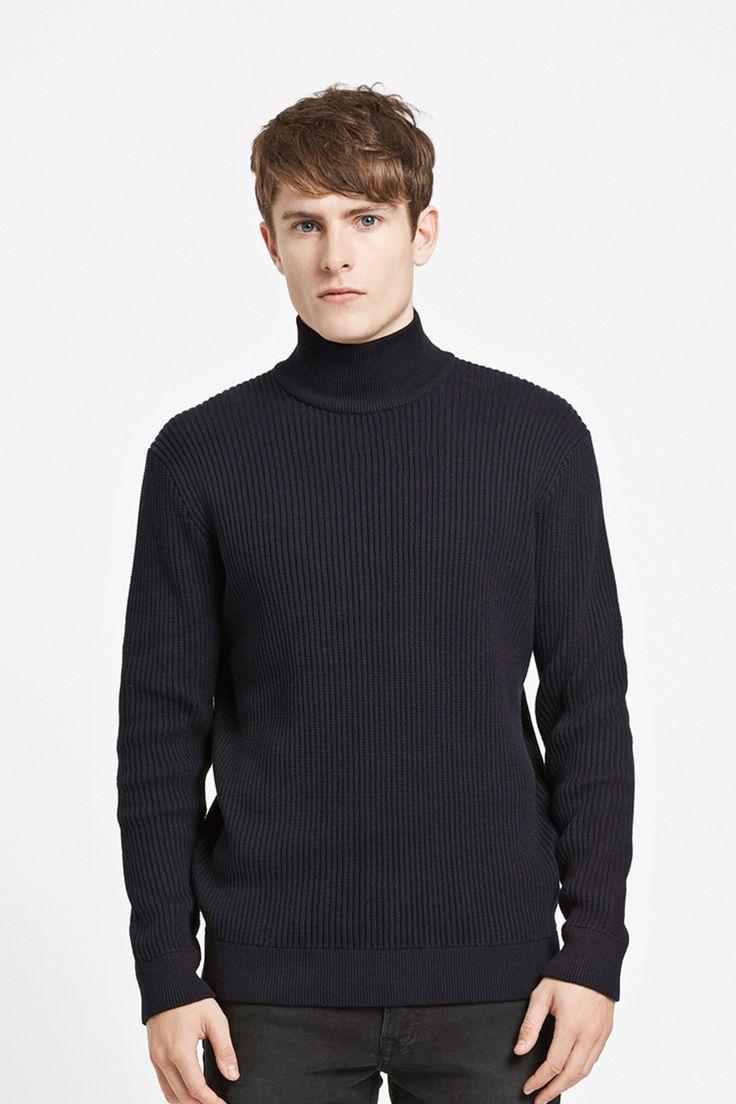 WEARECPH - Ongenda Roll Neck Knit. Shop this mens Roll Neck onlne at www.wearecph.com www.wearecph.com #wearecph #aw16 #mensfashion #menswear #streetwear #mensstyle #streetstyle #knit #roll #neck