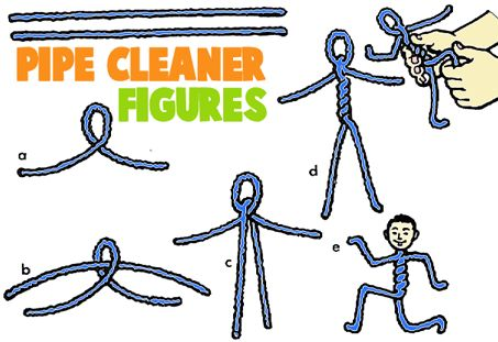 Pipecleaner Crafts for Kids : Arts and Crafts Activities with Pipe Cleaners & Chenille Stems for Children & Preschoolers