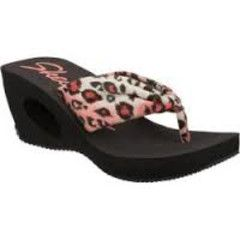 Original SKECHERS - Key Hole Wedge Sandal - Sizes 4, 5, 6, 7, 8