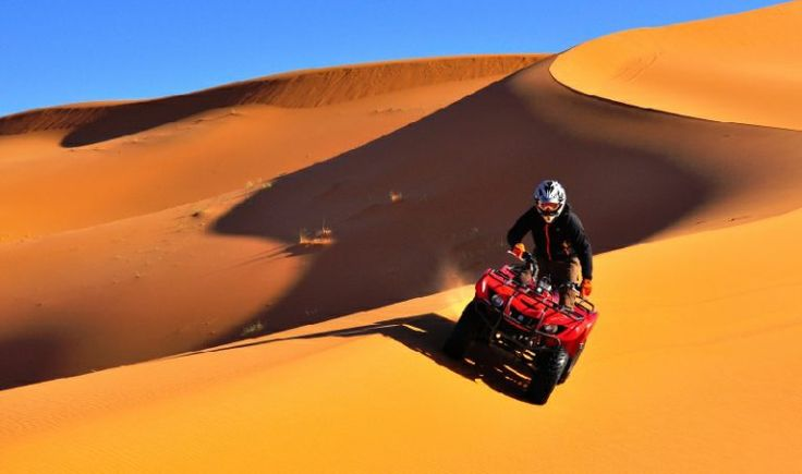 quad biking and atv in the desert of morocco - DesertVie