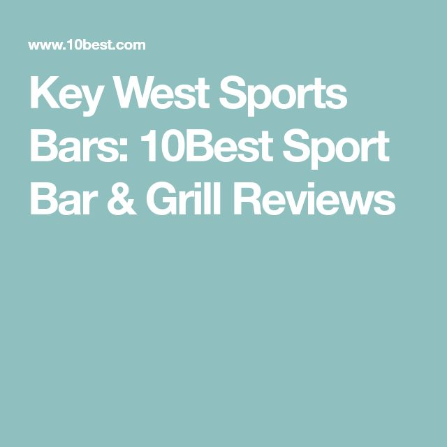Key West Sports Bars: 10Best Sport Bar & Grill Reviews