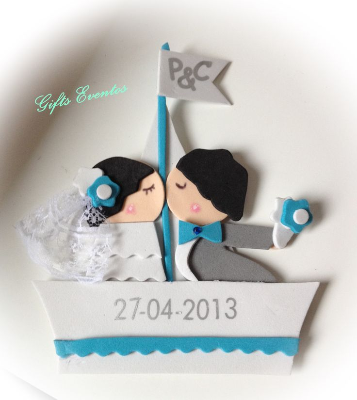 Imanes personaliados, ideal como detalle de boda. http://www.giftseventos.es/