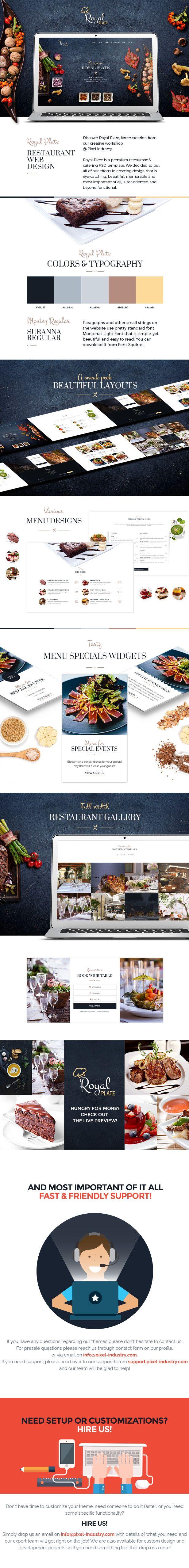 50 Best Html Restaurant Website Templates Images On Pinterest Free