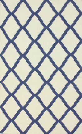 Rugs USA Tuscan Moroccan Trellis Flatwoven Ivory Rug