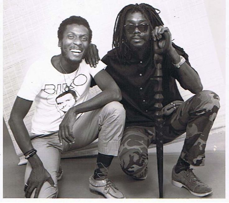 Jimmy Cliff e Peter Tosh