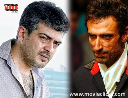 Rahul Dev is the villain of Ajith Kumar. Read http://movieclickz.com/tamil-cinema-news/rahul-dev-is-the-villain-of-ajith-kumar/