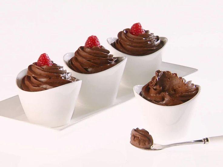 Chocolate-Avocado Mousse recipe from Giada De Laurentiis via Food Network