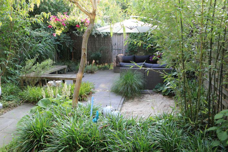plantentuin met zandbak. ontwerp: freek de Gruijter