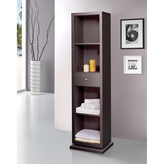 Artiva USA Bella Home Deluxe 71-Inch Merlot Full-length Mirror and Swivel Cabinet/Shelving Unit - Overstock™ Shopping - The Best Prices on Artiva Bedroom Mirrors