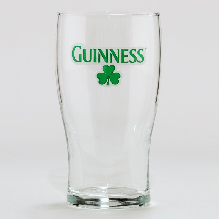 Shamrock Guinness Glasses, Set of 4 | World Market