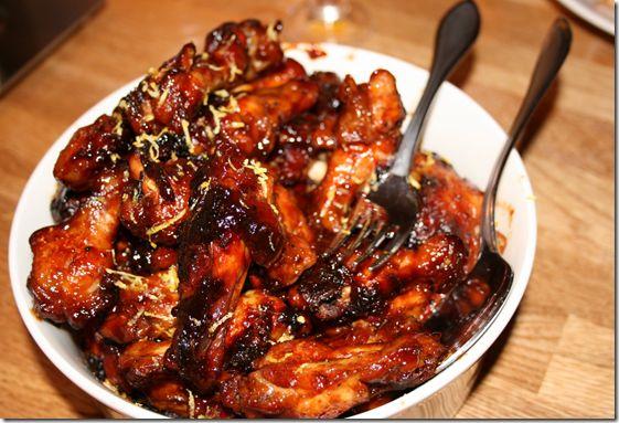 Sticky Chicken - god marinade til kylling