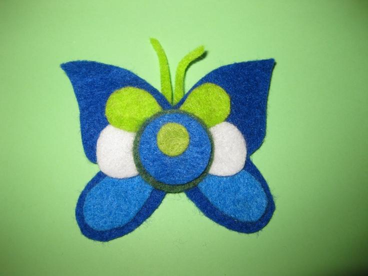 Mariposa tricolor